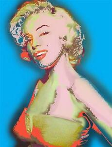 Marilyn Monroe I Just Want to be Wonderful Fine Art Giclee on Paper