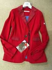 Animo Red Show Competition Jacket  i46 Uk14 BN