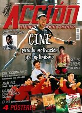NEW!! GLADIATOR RUSSELL CROWE STALLONE ROCKY Acción Cine Magazine June 2020