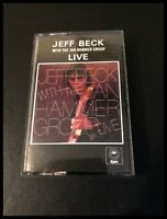 Jeff Beck With the Hammer Group Live - Cassette Tape Album - Epic EPC40-86025