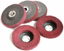 5pcs 4 12 Inch Nylon Flap Disc Metal Polishing Buffing Angle Grinder Wheels 45