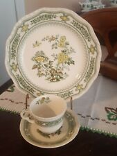 3 pieces - Masons Mason's Manchu Dinner Plate and Cup and Saucer