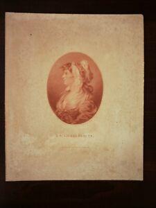 J.H.BENWELL, F. BARTOLOZZI OLD PRINT - A ST. GILES BEAUTY, PUBL.BY E.M. DIEMAR