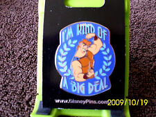 Disney * HERCULES - I'M KIND OF A BIG DEAL* New on Card Character Trading Pin