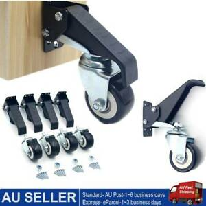 4x Heavy Duty Workbench Casters Set to Move Workbench Furniture