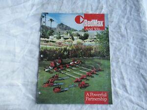 1989 RedMax chain saw and yard equipment brochure