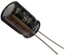 5x Condensateur électrolytique chimique 470µF 25V THT  10000h Ø10x16mm radial