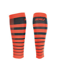 2XU Striped Run Comp Calf Sleeves - 2017