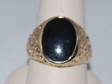 10k Gold ring with Onyx Gemstone
