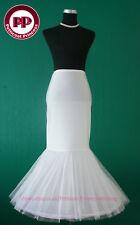 Fishtail Mermaid Cocktail Bridal Petticoat Underskirt L