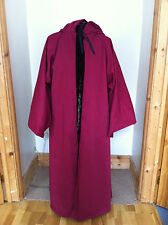 Merlins Medieval Closet/Cotton drill flared robe /Front opening/JEDI/Wizard