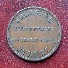 Australia J.M. Leigh, Sydney penny token