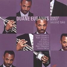 FREE US SHIP. on ANY 2 CDs! ~LikeNew CD Duane Eubanks: Second Take