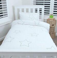 'STARS' SINGLE DOONA COVER w PILLOWCASE KIDS QUILT SET BOY GIRLS BED LINEN SHEET