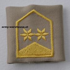 "österr. Bundesheer Dienstgrad Abzeichen ""Oberstleutnant"", ÖBH Rang, beige"