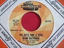SOUL FUNK 45 - SAM BUTERA - LOVE BANDIT / YOU GOTTA BEND - COLISEUM 2710 VG++
