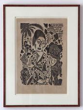 Prof. Ewald Dülberg, 1920 Lehrer am Bauhaus, SELTEN MUSEAL, GROSS !Galerie 3800€