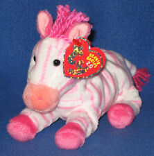 TY BUBBLEGUM the ZEBRA 2.0 BEANIE BABY - MINT with MINT TAGS - UNUSED CODE