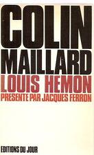 Colin-maillard Louis HÉMON présenté par Jacques FERRON 1972