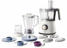 Philips 750 W Kitchen Food Processor Hr7761 01 With Accessories for 28 Functions