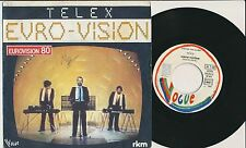 """EUROVISION 1980 45 TOURS 7"""" FRANCE TELEX MARC MOULIN SYNTHE"""