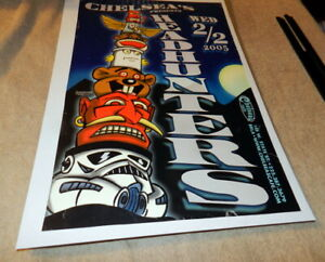 Chelsea's Cafe Presents The Headhunters Poster 2002 Baton Rouge Louisiana