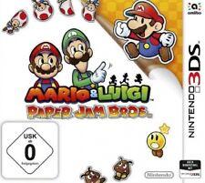 Nintendo 3DS Mario und Luigi Paper Jam Bros  DEUTSCH Neuwertig