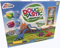 Childrens Kids Dinosaur Playdoh Dough Moulding Modelling Toy Set Kit R03-0108