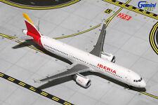 GEMINI JETS IBERIA AIR LINES A321-200 1:400 DIECAST MODEL EC-ILO GJIBE1494