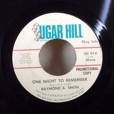 """Raymond A. Smith One Night to Remember / Roll Train 7"""" 45 Sugar Hill promo VG+"""