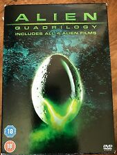Sigourney Weaver ALIEN QUADRILOGY ~ Classic Sci-Fi 4 Film Collection DVD Box Set