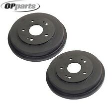 Rear Set of 2 OPparts Brake Drums 40521058 for Honda Accord 2003-2007 L4 CR-V