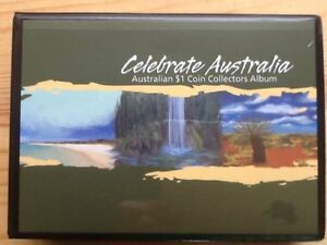 2011 CELEBRATE AUSTRALIA FIVE COIN Complete Set in Album