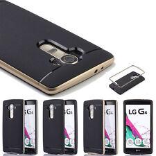 Custodia Cover Rigida Ibrida Bumper Gomma Morbida Slim Per Smartphone LG G2 G3