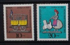 GERMANY MNH STAMP DEUTSCHE BUNDESPOST BERLIN 1969 PEWTER MODELS  SG B339 - B342