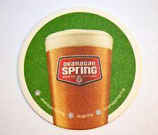Beer Coaster Okanagan Spring Big White IPA Canadian
