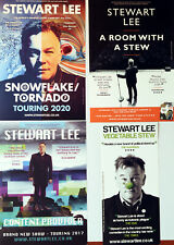 STEWART LEE  FLYERS X 4 - SNOWFLAKE TORNADO TOUR -  VEGETABLE STEW ETC