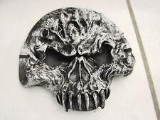 1/2 Face Skull Mask face hugger silver black kids Parties Halloween
