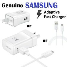 Genuine SAMSUNG ADAPTIVE FAST Charger AC Wall Adap For S7 S6 Edge Note 4 5 C9 9V