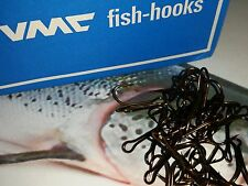 SALMON size 3 PREDATORS DOUBLE Limerick 9508BZ X 25 VMC HOOKS FISHING pike lure
