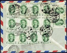 2451 Colombia To Italy Air Mail Cover 1953 Ibague - Torino