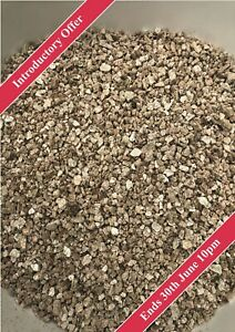 2l 2-5mm Pro Horticultural Vermiculite - Hydroponics Potting Up Cuttings Seeds