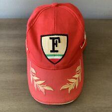 Rare Vintage Childrens Formula 1 Ferrari Hat