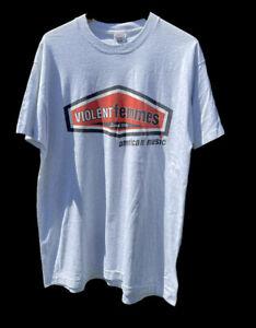 Vintage Violent Femmes American Music band tour shirt 1997 rap music art