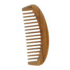 Wooden Wide Tooth Comb Natural Sandalwood Scent Handmade Massage Anti Static