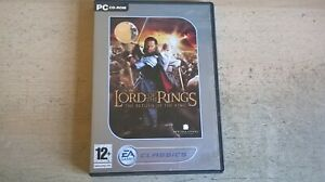 THE LORD OF THE RINGS : THE RETURN OF THE KING - PC GAME - COMPLETE WITH MANUAL