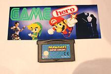 MARIO KART SUPER CIRCUIT NINTENDO GAME BOY ADVANCE GAMEBOY GBA TESTED RARE!