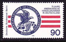 Germany Berlin 9N416 MNH OG 1978 American Chamber of Commerce in Berlin 75th