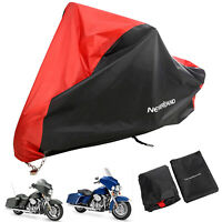 XXXL Motorcycle Cover Outdoor Waterproof For Harley Davidson Electra Glide Bike
