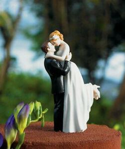 Love Bride Groom Wedding Anniversary Bachelorette Party Cake Topper Figurine New
